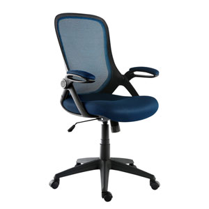 Loring Blue Mesh Office Chair