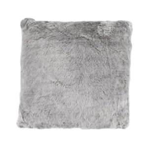 Arctic Bear Gray 22 In. X 22 In. Throw Pillow