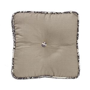 Augusta Khaki 18 x 18 In. Throw Pillow