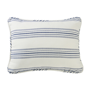 Prescott Navy Stripe King Pillow Sham