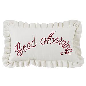 Prescott Good Morning 12 x 21 In. Throw Pillow
