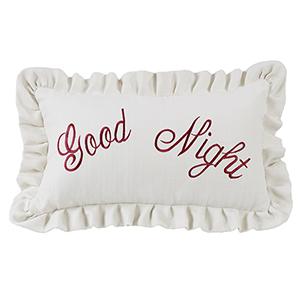 Prescott Good Night 12 x 21 In. Throw Pillow