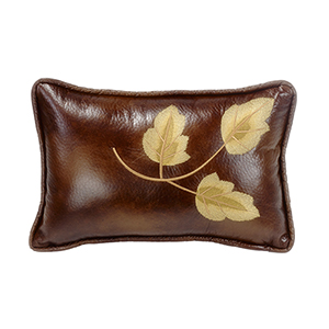 Highland Lodge Brown 12 x 19 In. Throw Pillow