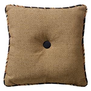 Ashbury Tan 18 x 18 In. Tufted Throw Pillow