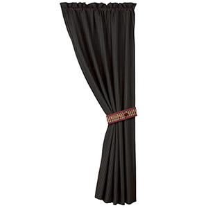 Bayfield Black 84 x 48-Inch Curtain Single Panel