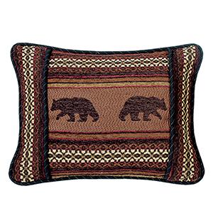 Bayfield Bear 16 x 21 In. Throw Pillow