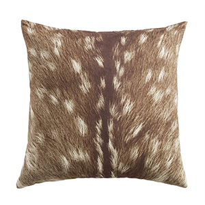 Fawn 18 x 18 In. Throw Pillow