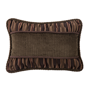 Forest Pines Brown Corduroy 14 x 20 In. Throw Pillow