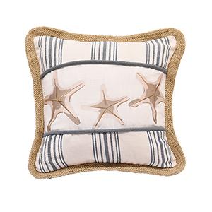 Starfish 18 x 18 In. Throw Pillow