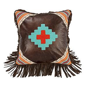 Serape Aztec Design 18 x 18 In. Throw Pillow