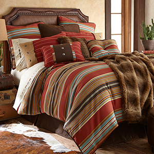 Calhoun Multicolor Super Queen Five-Piece Comforter Set