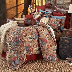 Ruidoso Multicolor Super King Four-Piece Comforter Set