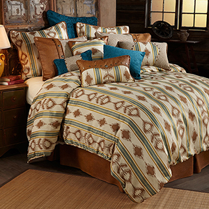 Alamosa Multicolor Twin Four-Piece Comforter Set