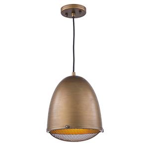 Retro Loft Bronze 10-Inch One-Light Pendant