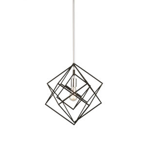 Artistry Polished Nickel One-Light Pendant