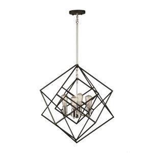 Artistry Polished Nickel Four-Light Chandelier