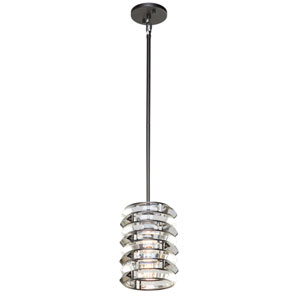 Vero Black One-Light Mini Pendant