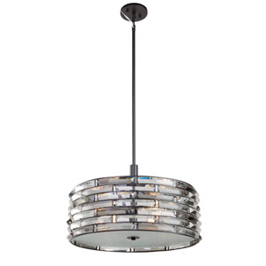 Vero Black Five-Light Pendant