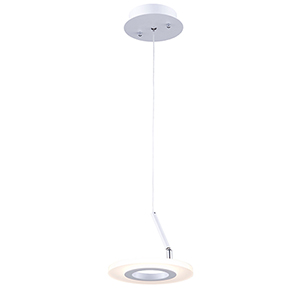 Phoenix White LED Mini Pendant