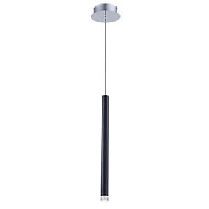 Galiano Black LED Mini Pendant