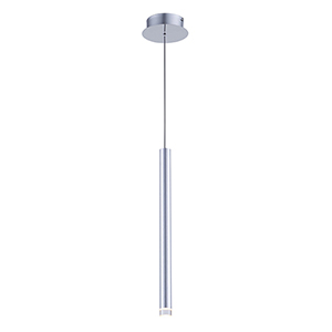 Galiano Satin Aluminum LED Mini Pendant