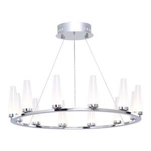 Briar Chrome 12-Light LED Chandelier