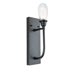 Bimini Black LED Outdoor Wall Light