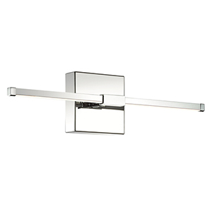 Shooting Star Chrome LED Wall Sconce