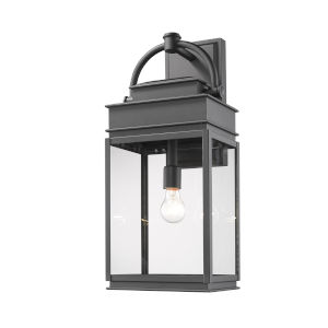 Fulton Black 24-Inch One-Light Outdoor Wall Light