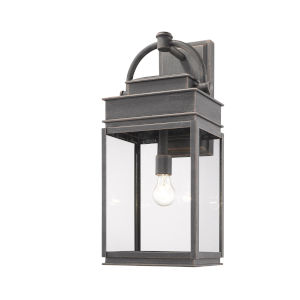Fulton Oil Rubbed Bronze 24-Inch One-Light Outdoor Wall Light