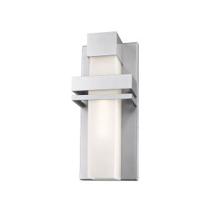 Camden Silver LED Outdoor Wall Light