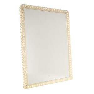 Reflections Crystal 32-Inch LED Square Wall Mirror