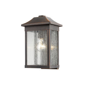 Morgan Rust 13-Inch One-Light Outdoor Wall Sconce