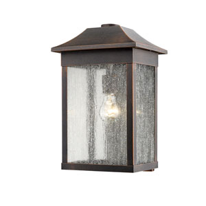 Morgan Rust 16-Inch One-Light Outdoor Wall Sconce