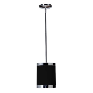 Madison Black One-Light 7-Inch Wide Single Mini Pendant