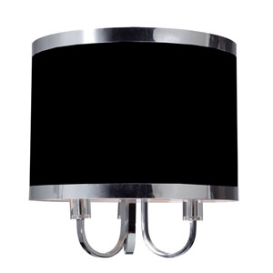 Madison Black Three-Light 15.75-Inch Wide Chandelier
