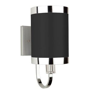 Madison Black One-Light 6-Inch Wide Wall Sconce