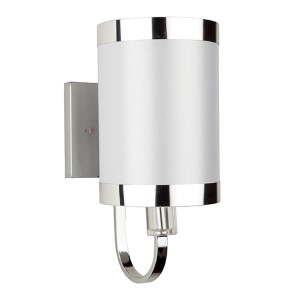 Madison White One-Light 6-Inch Wide Wall Sconce