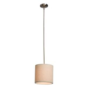 Mercer Street Oatmeal One-Light 10-Inch Wide Mini Pendant