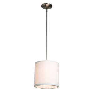 Mercer Street White One-Light 10-Inch Wide Mini Pendant
