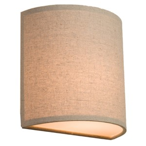 Mercer Street Oatmeal One-Light 10-Inch Wide Wall Sconce