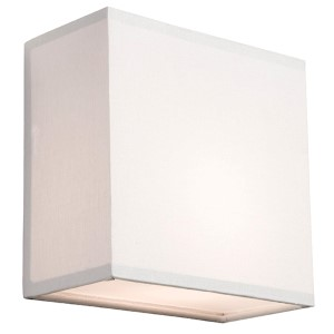 Mercer Street White One-Light 10-Inch High Wall Sconce