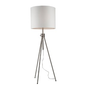 Mercer Street Brushed Nickel Four-Light Floor Lamp
