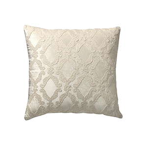 Suave Boucle Ivory 22 x 22 In. Throw Pillow