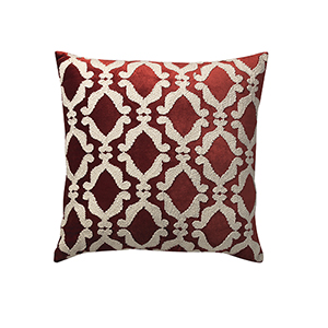 Suave Boucle Rust 22 x 22 In. Throw Pillow