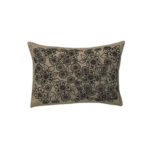 Valerie Beige 14 x 20 In. Throw Pillow