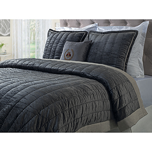 Oliver Cocoa King Quilt