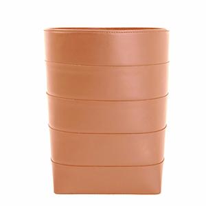 Architects Saddle Leather Bin