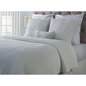 Spencer White Queen Coverlet