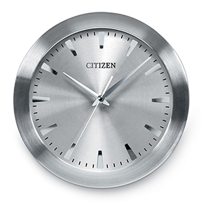 CC2003 Gallery Silver Wall Clock